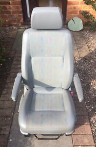 VW T5 Captain Driver Front Seat with Armrests Inca Fabric