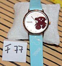 Cute TOUS Women Dress Watch Lady Bear Wristwatch F77