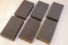 Lot 6 - Recycled foam packing block shipping gray protection pad thick 3x6 6x3