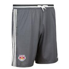 New York Red Bulls MLS Adidas Men's Dark Grey Training Shorts w/ Pockets