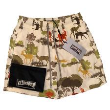 Vilebrequin Mens Swim Shorts - Moorea Classic Cut Antler Size Small