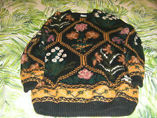 Target Pure New Wool Floral Jumper (Size 14/16)