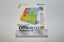 Microsoft Office 2000 Professional Pro versión completa box producto nuevo Word de Excel
