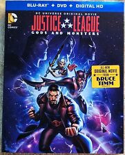 Justice League: Gods And Monsters Blu-ray only w/case *No Dvd No Digital Copy*