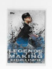 2018 Topps Giancarlo Stanton Legends In The Making insert #LTM-GS  Miami Marlins