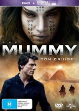 The Mummy (DVD, 2017) Tom Cruise - Brand New Sealed Region 4