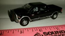 1/64 CUSTOM 2014 dodge black 2500 cummins decked out pickup truck ERTL farm toy