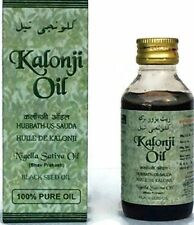 Natural 100% Black Seed Oil Kalonji Oil Nigella Sativa Black Cumin Ashwin 100ML