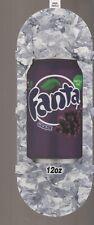Fanta Grape 12oz Can Vending Machine Sign