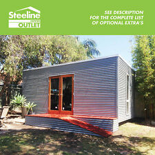 Cabin - Colorbond Kit Shed