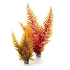 Oasis Biorb Easy Plant 2 Pack Fish Tank Aquarium Decoration Autumn loin