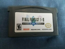Final Fantasy I & Ii: Dawn of Souls (Game Boy Advance) Gba Cart Only Authentic