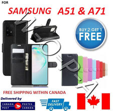 Samsung Galaxy A51 & A71 New Pouch Flip Cover Wallet Leather Phone Case