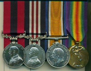 A WWI D.C.M., M.M. group of four awarded to Sergeant H. C. Smith, 58th Battalion