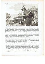 "1825 San Benedetto da Norcia ""Saint Benoit"" (Montecassino 21 marzo Benedettini)"
