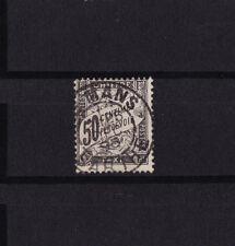 timbre France TAXE   Duval   50c  noir     num: 20   oblitéré tb