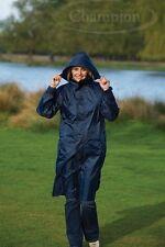 Champion Unisex Waterproof Knee Length Jacket Navy XL