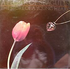 A FLOCK OF SEAGULLS the story of a young heart LP 1984+