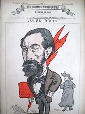 Jules Roche Avocado Deputy Pressman Caricature Gill Men Today 1878