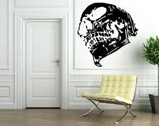 SKULL HUMAN BONES SKELETON Wall MURAL Vinyl Art Sticker M231