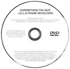 Gunsmithing the S&W J, K, L, & N Frame Revolvers with Jerry Kuhnhausen (DVD)
