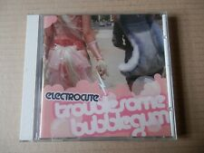 Electrocute ‎– Troublesome Bubblegum CD Electro Punk Synth pop Rock Pussy Riot