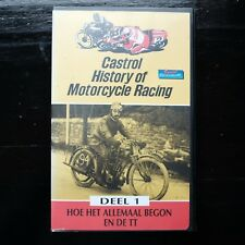 CASTROL HISTORY OF MOTORCYCLE RACING - DEEL 1  - VHS