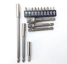 Adapter- Verlängerung- Bit Set 16tlg. Magnetbithalter Adapter Stecknuss Bits