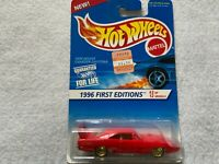 Hot Wheels 1970 Dodge Charger Daytona 1996 First Editions Red Lace