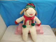 "VINTAGE LARGE SIZE LAMB CHOP PLUSH STUFFED ANIMAL 22"" SHARI LEWIS COLLECT PLAY"