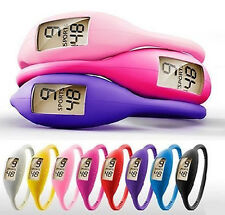 NEW Candy Color Silicone Digital Jelly Anion Sports Wrist Watch Bulk