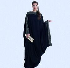 Abaya dubai kaftan gulfs stylish design maxi muslim dress Galabia Long Sleeve