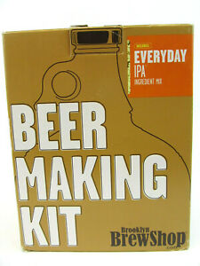New Brooklyn Brew Shop Everyday IPA Beer Making Kit All-Grain Starter Set Reus