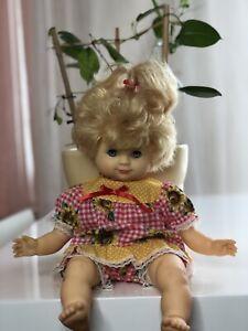 Alte Schildkröt Puppe Schlummerle 40 cm