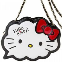 Hello Kitty Chain Shoulder Bag Purse Pouch Pochette Sanrio from Japan S3131