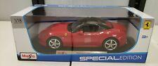 Maisto Ferrari California T 1/18 Scale Diecast Car Brand New In Box Red Special