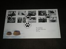 2001 GB Stamps CATS & DOGS Self Adhesive First Day Cover EDINBURGH BUREAU Cancel