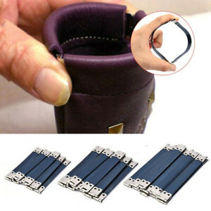 10pcs DIY Sewing Bag For Purse Clasp Lock Flex Frame Internal Metal Purse Frame