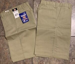 NEW Boy's Dickies Flexwaist KR123 School Uniform Shorts Size 4