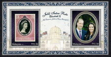 2012 MALAYSIA ROYAL VISIT PRINCE WILLIAM & KATE (M/S) MNH