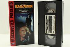 Halloween VHS Blockbuster John Carpenter Michael Myers Jamie Lee Curtis