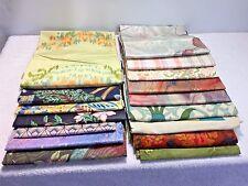 Vintage Retro Asst. Lot Home Decor Decorator Fabric Sample Pieces 5 + Pounds