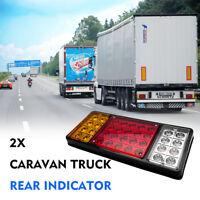 12V 36LED Tail Lights Rear Ute Trailer Caravan Truck Boat Car Indicator Lamp