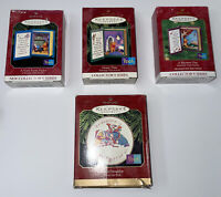 Hallmark Keepsake Winnie The Pooh Collectors Series Lot Of 4 Ornaments 1997-2000