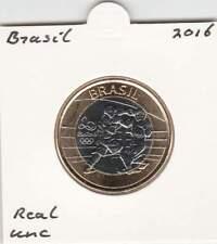 Brazil 1 real 2016 UNC - Olympische Spelen Boksen (mq018) bimetal