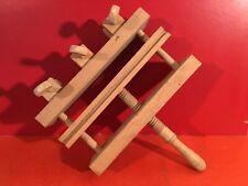 Presse / Etau Ancien en bois Outils de métier ancien à identifier