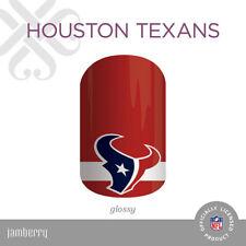 Authentic JAMBERRY Nail Wraps - NFL - Houston Texans - Full Sheet