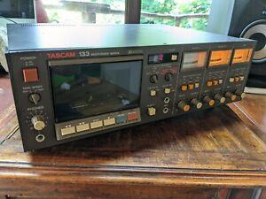TASCAM 133 MULTI IMAGE SERIES TRACK SPEED CASSETTE DECK TAPE PLAYER RECORDER
