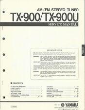 Yamaha TX-900 TX-900U / Service Manual / Anleitung