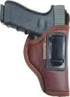 For Glock 26/27/33 (Gen 1/2/3/4/5) BROWN IWB Inside the Waistband Gun Holster